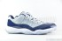 Air Jordan 11 Low Retro (Grey Mist-White-Midnight Navy) 2