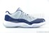 Air Jordan 11 Low Retro (Grey Mist-White-Midnight Navy) 3