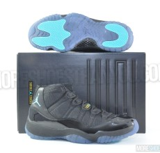 Air Jordan 11 Retro (Black-Gamma Blue-Blck-Vrsty Mz) 1