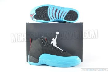 Air Jordan 12 Retro (Black-Gym Red-Gamma Blue) 1