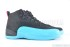 Air Jordan 12 Retro (Black-Gym Red-Gamma Blue) 2