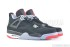 Air Jordan 4 Retro (Black-Cement Grey-Fire Red) 2
