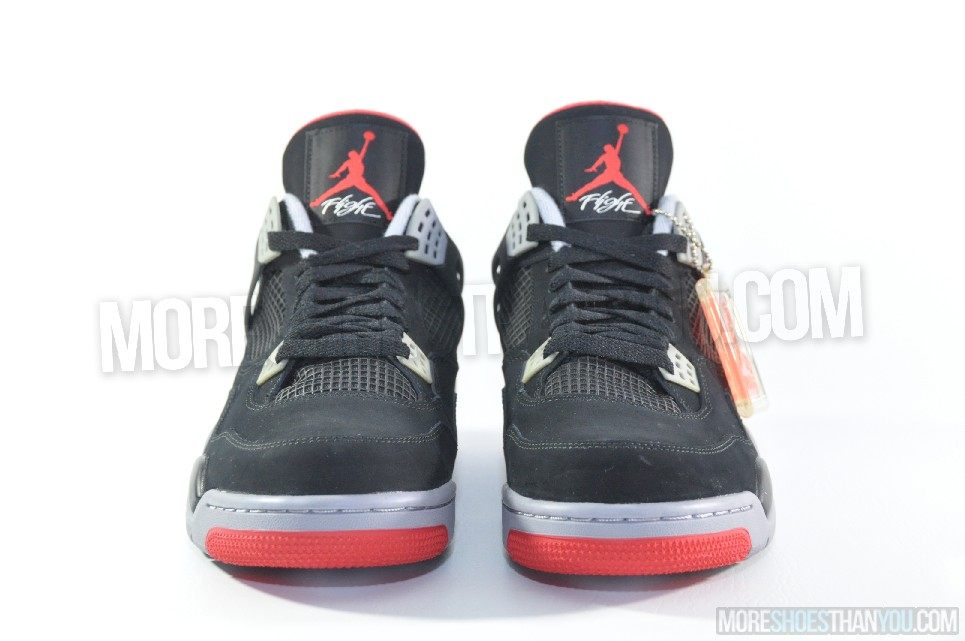 new concept f9eaf 519eb ... coupon for air jordan 4 retro black cement grey fire red 5 875ed 311d4