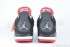Air Jordan 4 Retro (Black-Cement Grey-Fire Red) 6