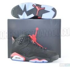Air Jordan 6 Retro (Black-Infrared) 1