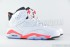 Air Jordan 6 Retro (White-Infrared-Black) 2