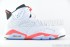 Air Jordan 6 Retro (White-Infrared-Black) 3