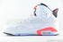 Air Jordan 6 Retro (White-Infrared-Black) 4