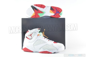 Air Jordan 7 Retro (White-True Red-Lght Slvr-Trmln) 1