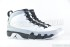 Air Jordan 9 Retro (White-Black-Wolf Grey) 2