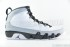 Air Jordan 9 Retro (White-Black-Wolf Grey) 3