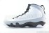 Air Jordan 9 Retro (White-Black-Wolf Grey) 4