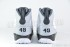 Air Jordan 9 Retro (White-Black-Wolf Grey) 6